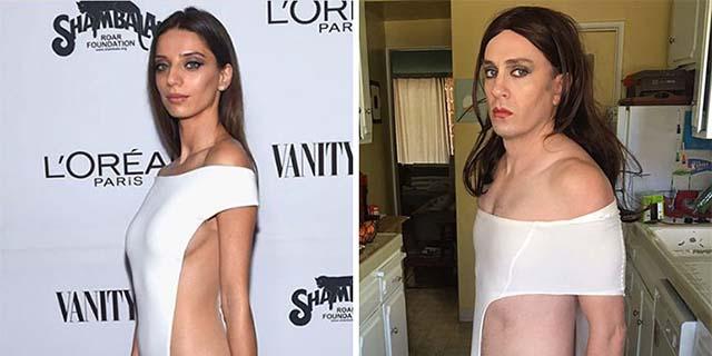 20 outfit vip ricreati in modo esilarante dall'attore di Buffy l'Ammazzavampiri