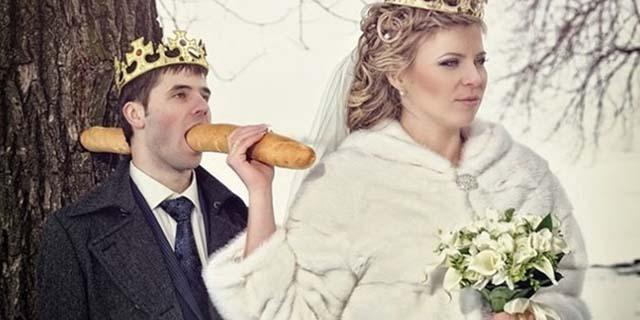 Le 20 peggiori foto di matrimoni russi cui non si può credere