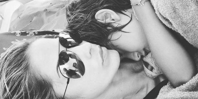 """Elena Santarelli e il tumore del figlio: """"Piango lontano da tutto e da tutti"""""""