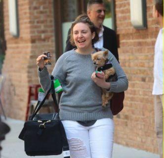 "Lena Dunham: ""Perché sono più felice con 10 kg in più"""