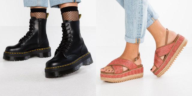 Scarpe platform: dai soldati inglesi ai nostri piedi, comode e alla moda
