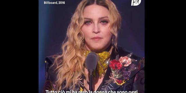 """Madonna: """"Chi mi diceva 'Non puoi' o 'Non devi', mi ha reso la donna che sono oggi"""""""