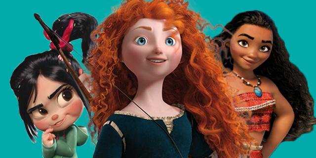Altro che principi azzurri: Merida e la carica delle principesse ed eroine Disney single