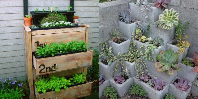 Fioriere fai da te 5 idee creative per balconi e terrazzi for Idee per realizzare una fioriera