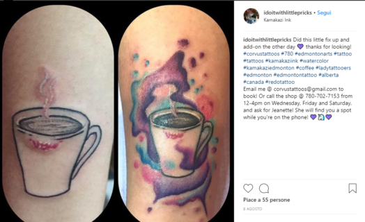 Cover up tattoo: come rimediare a tatuaggi disastrosi (o con i nomi degli ex)