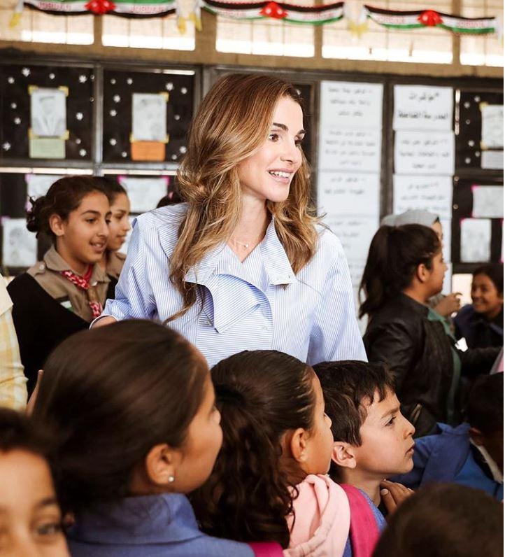 7 cose che fanno di Rania di Giordania una grande donna
