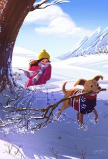 30 illustrazioni dolcissime che solo chi ha un cane può capire