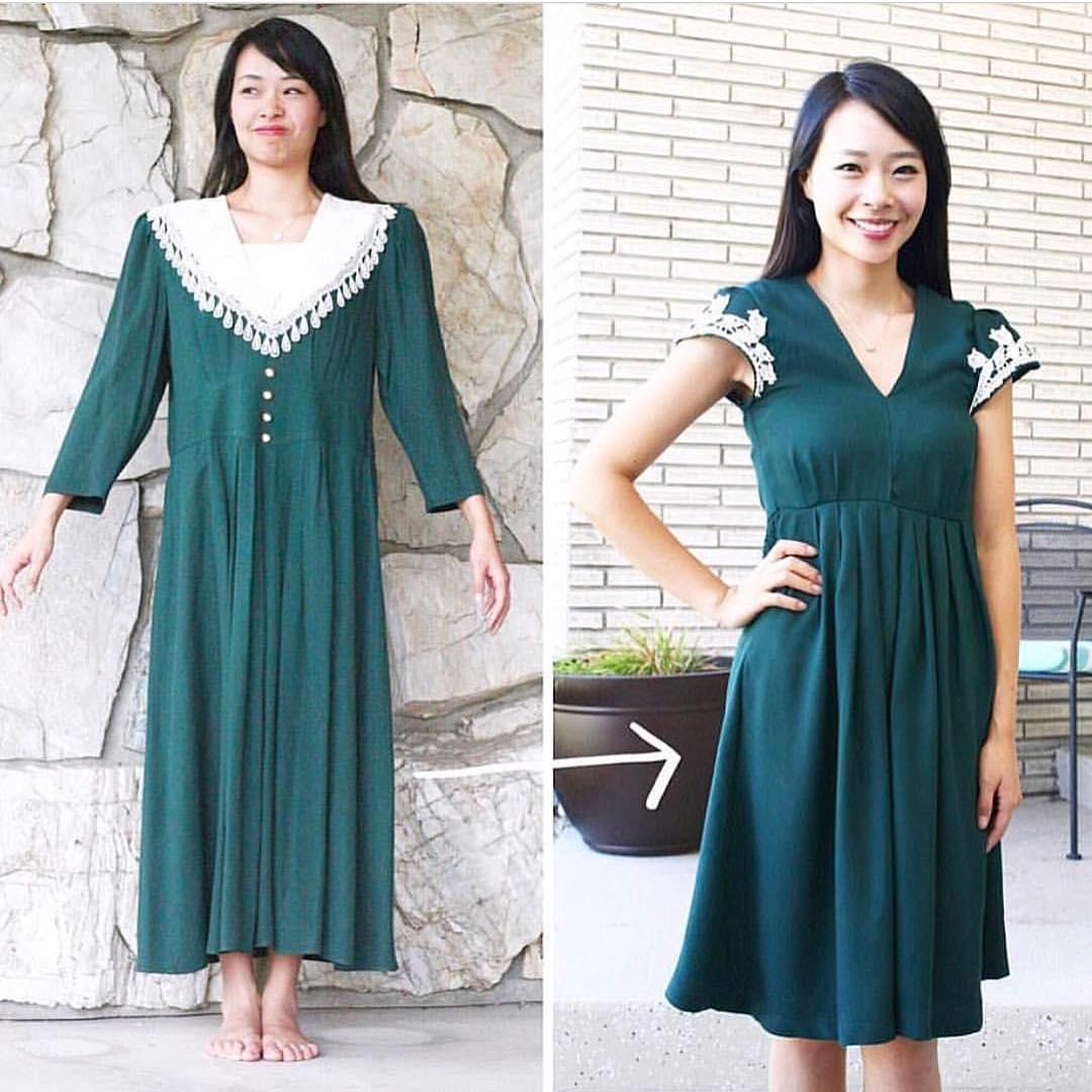 La fata dell'outfit: 13 modi in cui Sarah trasforma vecchi abiti importabili in nuovi