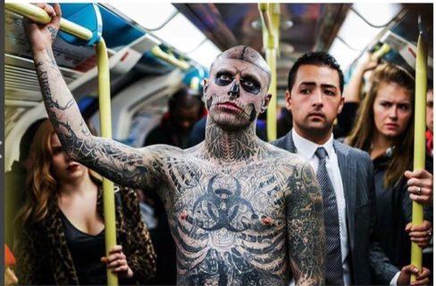 Vip e face tattoo: il significato dei tattoo sul viso di 12 artisti