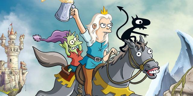 Disincanto, il fantasy del papà dei Simpson che distrugge le favole