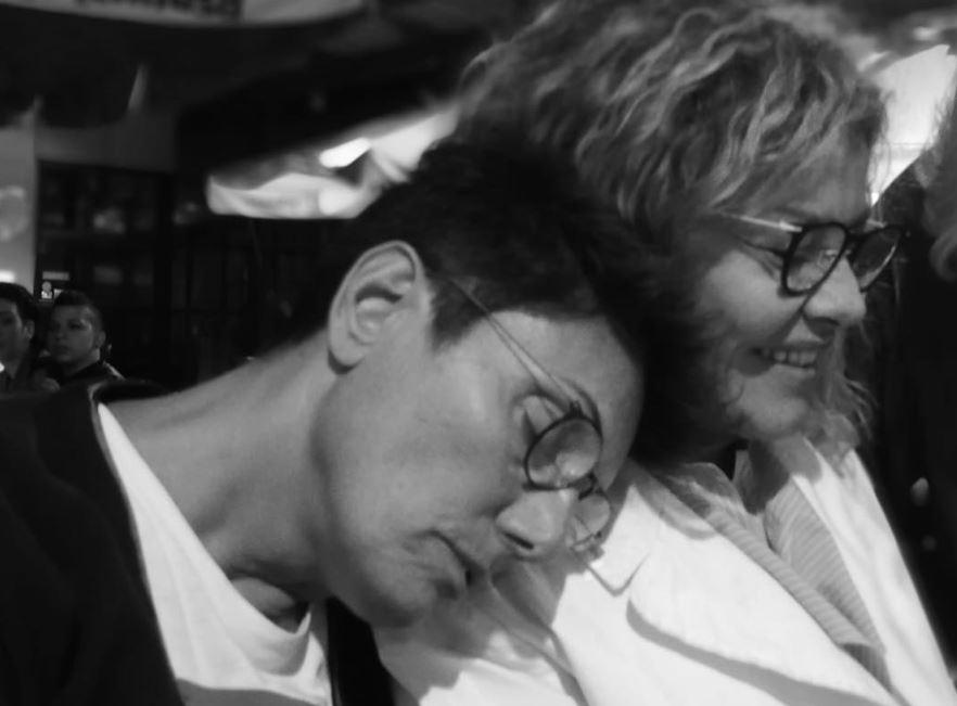La bellissima storia d'amore di Eva Grimaldi e Imma Battaglia