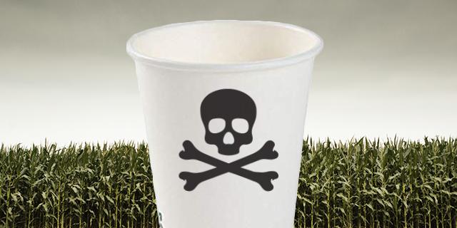 Come le tazze di caffè biodegradabili ci uccideranno senza farci sentire in colpa
