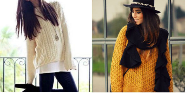 disponibilità nel Regno Unito 88651 c1842 Maxi pull: come indossare i maglioni oversize - Roba da Donne