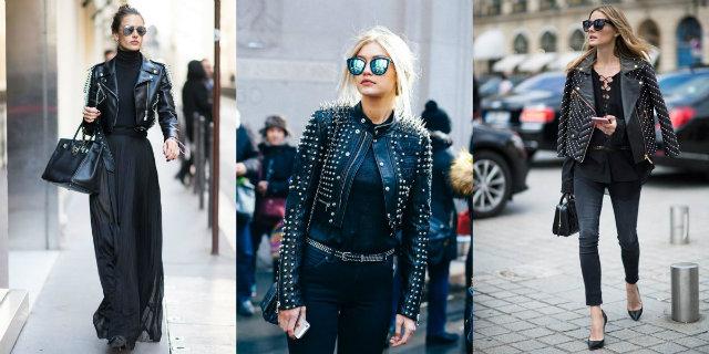 Sognatrice, pantera o elegante: 15 modi per abbinare la giacca di pelle