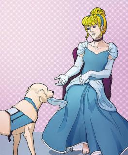 Disabili o con varie patologie: perché Arien ha ridisegnato le principesse così