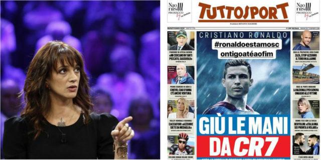 Se Cristiano Ronaldo fosse giudice di X Factor e Asia Argento giocasse nella Juve