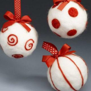 Palle Di Natale Fai Da Te.Palline Di Natale Fai Da Te 7 Idee Davvero Fantasiose