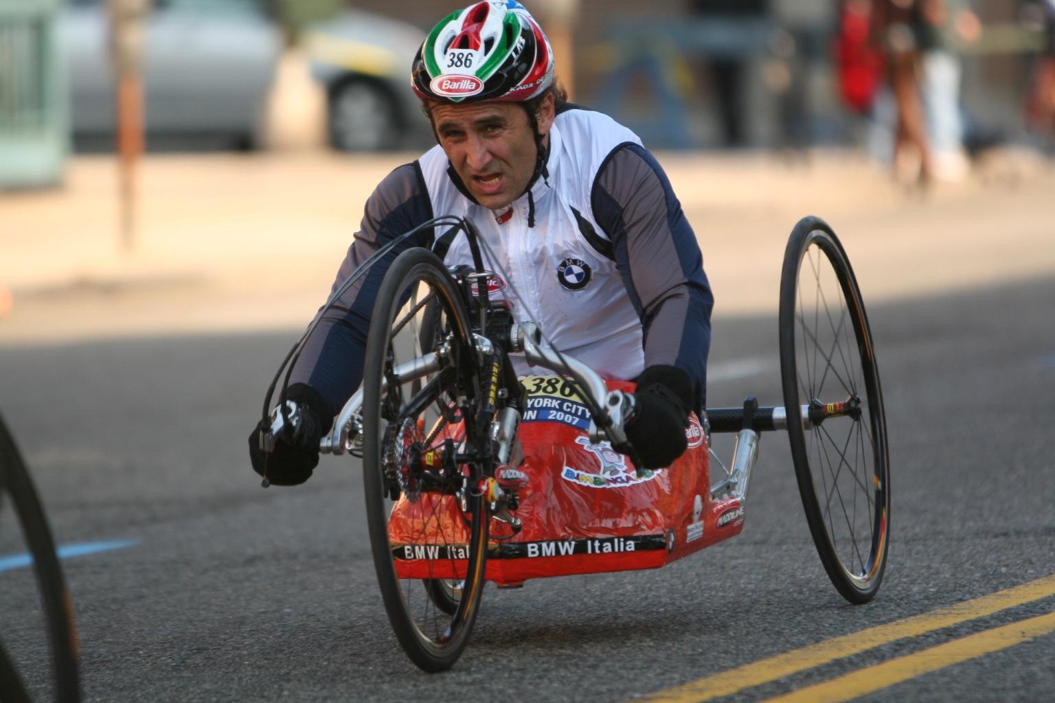 Alex Zanardi, quando essere disabile significa essere più abile dei normodotati