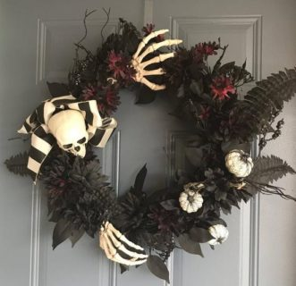 decorazioni di halloween: ghirlanda