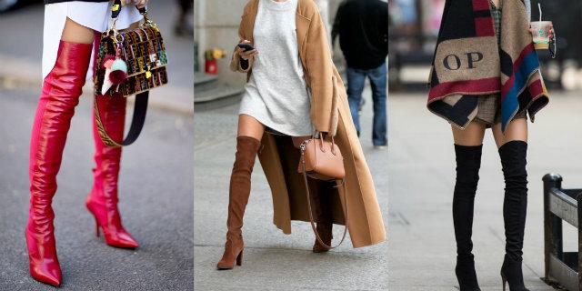 Stivali alti: i modelli di tendenza, come abbinarli e le tipologie