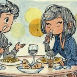 """""""Quando la mia ragazza a distanza è venuta a trovarmi in Italia"""" in 38 illustrazioni"""