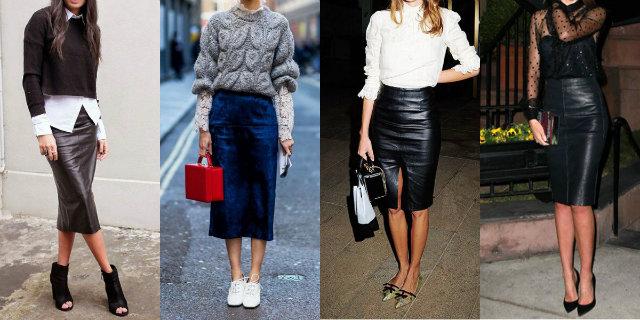 economico per lo sconto 2087a 73af7 Longuette (o pencil skirt): storia, abbinamenti e outfit ...