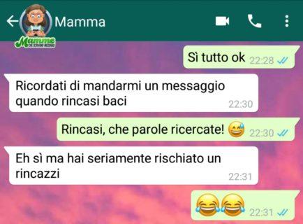 """I messaggi più belli delle """"Mamme che scrivono messaggi su Whatsapp"""""""
