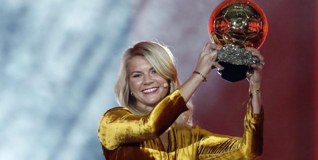 Se è normale chiedere questo alla calciatrice vincitrice del Pallone d'Oro