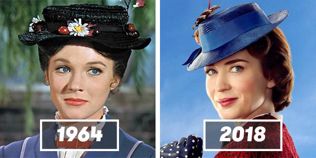 Il ritorno di Mary Poppins: cast originale e attuale a confronto in 12 foto