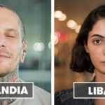 "La bellezza della gente che si incontra in aeroporto di ""100 Faces 100 Countries"""
