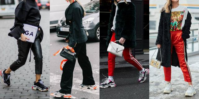 Chunky sneakers: cosa sono, abbinamenti e tendenze Roba da