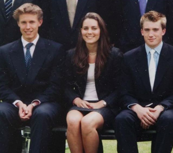 Quando Kate Middleton era una ragazza timida e insicura al college