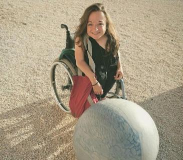 """Chiara Bersani: """"Se io, con il mio corpo disabile, oggi sono qui"""""""