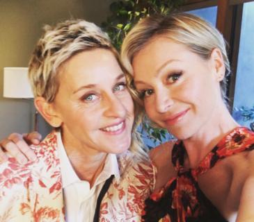 """""""Starò con lei fino alla fine"""": la storia d'amore tra Ellen DeGeneres e Portia De Rossi"""