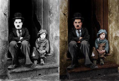 Come sono le foto in bianco e nero se prendono… colore