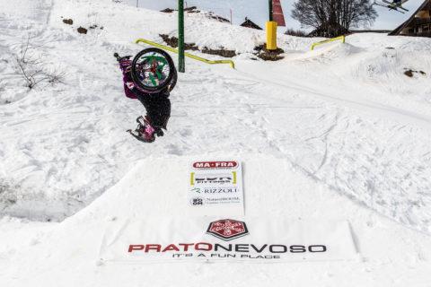 """Ilaria, campionessa di freestyle: """"Con la carrozzina mi diverto e sento libera"""""""