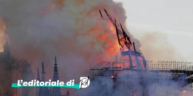 L'incendio di Notre Dame non è l'11 Settembre dell'Europa