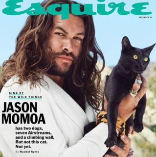 24 foto che dimostrano il lato ironico e dolcissimo di Jason Momoa
