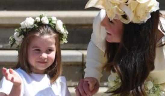 """4 anni di Charlotte, la principessina superstar che la regina chiama """"The boss"""""""