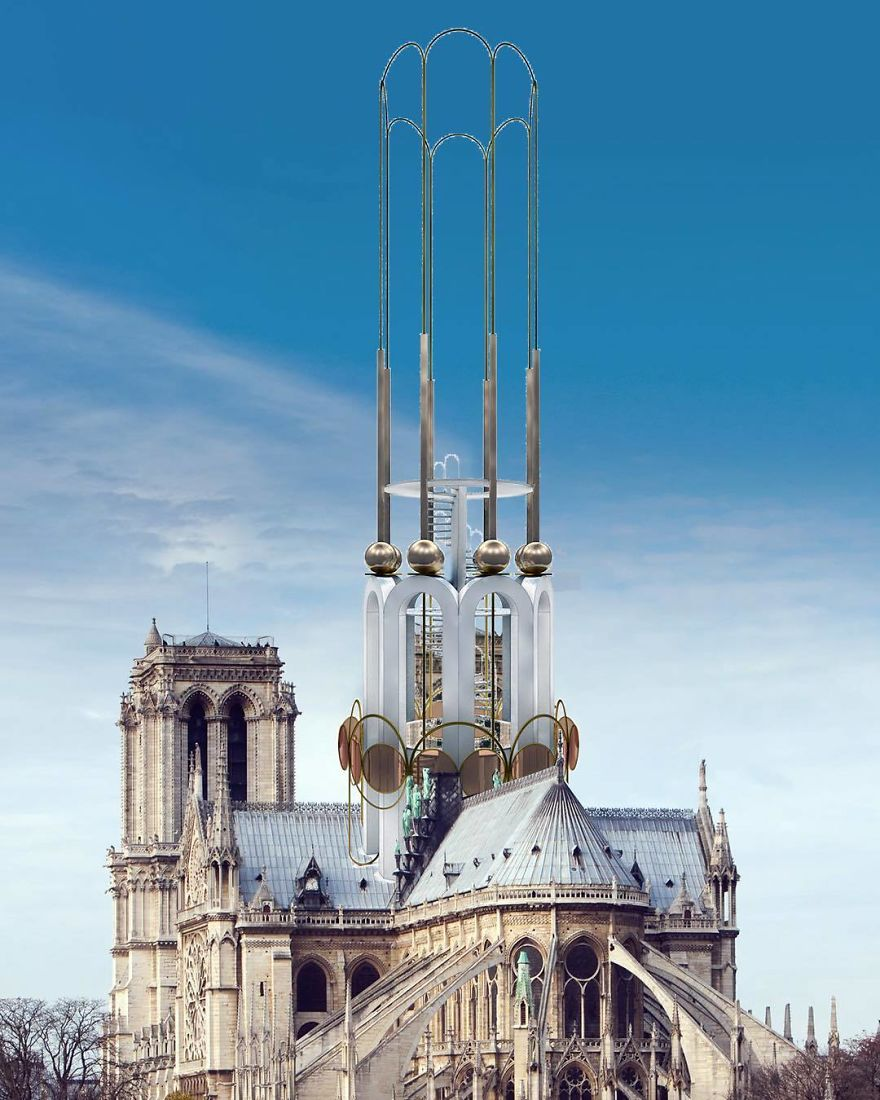 Come ricostruire Notre Dame? Le proposte alternative di 17 artisti