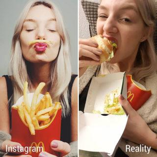 13 immagini di Instagram VS realtà: non è sempre come sembra