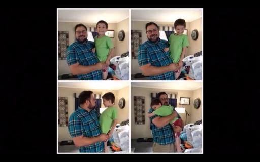 Famiglia è dove c'è amore: la storia di due papà e del loro bambino