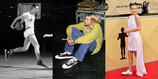 Outfit Converse: la storia del modello All-Stars. Fonte: pinterest.com