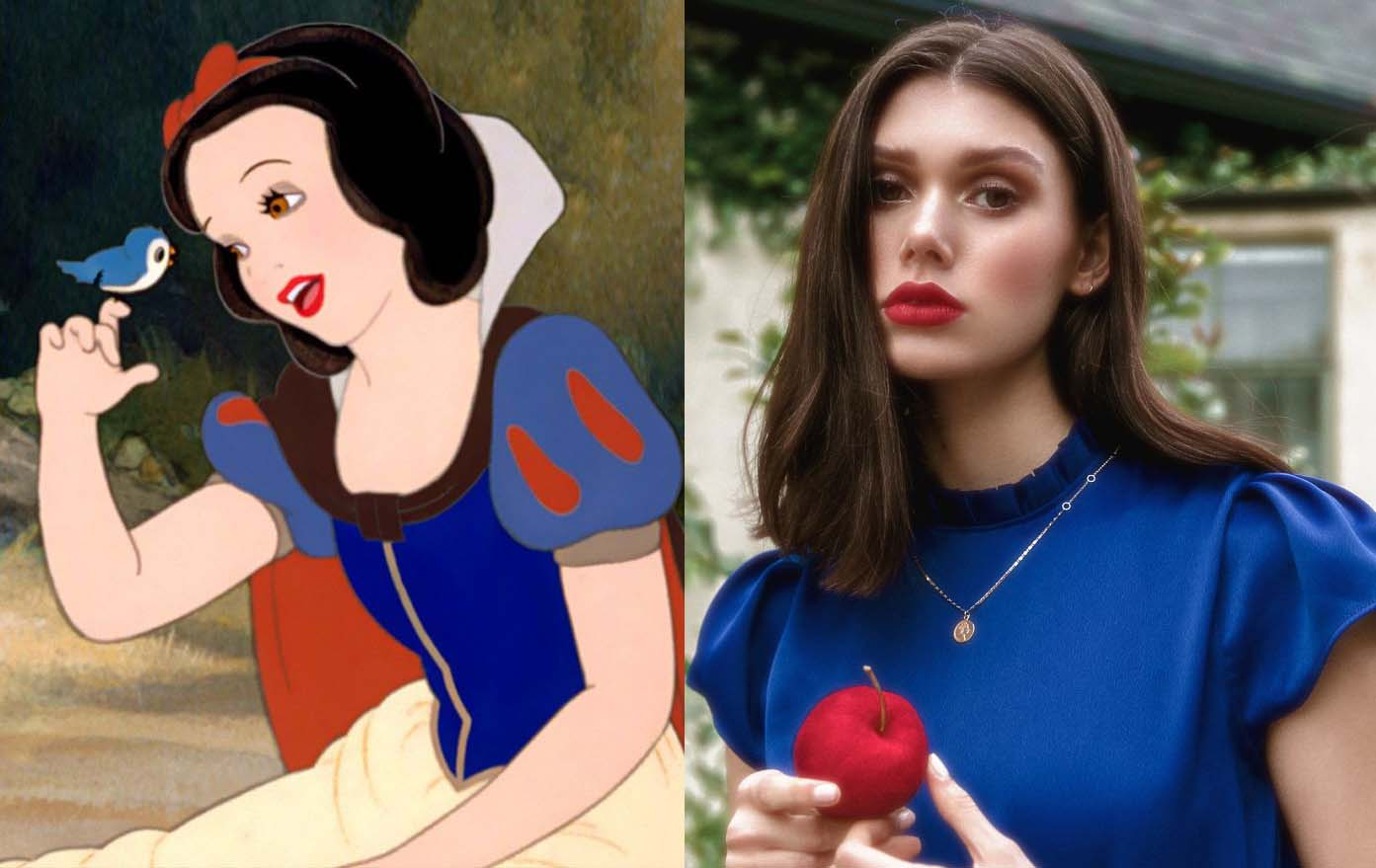 Come sarebbero le principesse Disney se fossero ragazze reali nel 2019