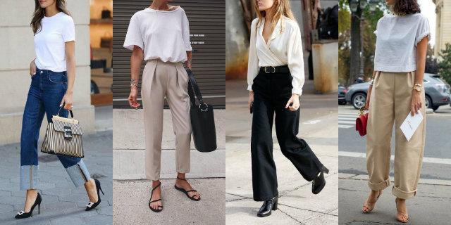 abbigliamento minimal
