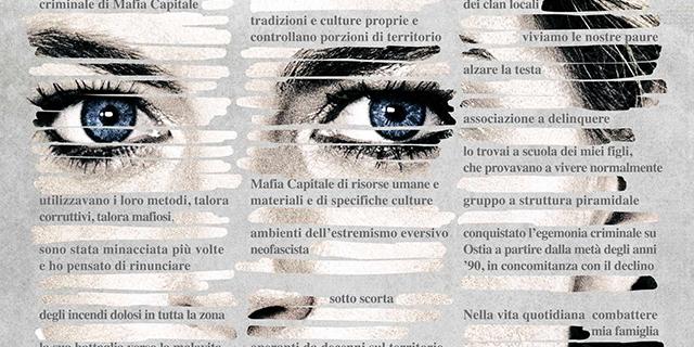 """Il coraggio di Federica Angeli, """"a mano disarmata"""" e testa alta contro la mafia"""
