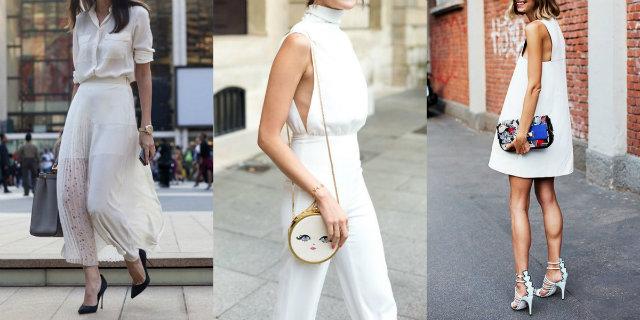 Total white: 10 outfit e 6 consigli per sfoggiare il bianco