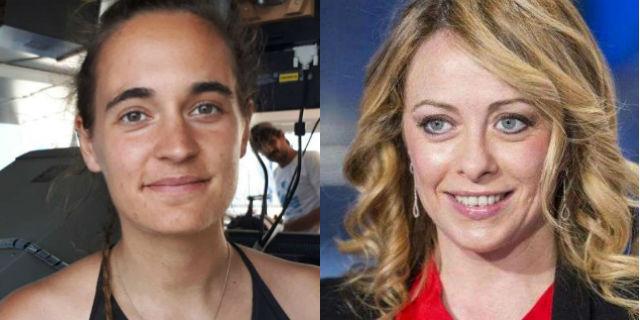 Dalla capitana Rackete a Giorgia Meloni: gli insulti sessisti fanno tutti schifo