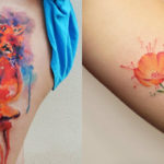 Watercolor tattoo: 14 idee pazzesche per i tatuaggi acquerello