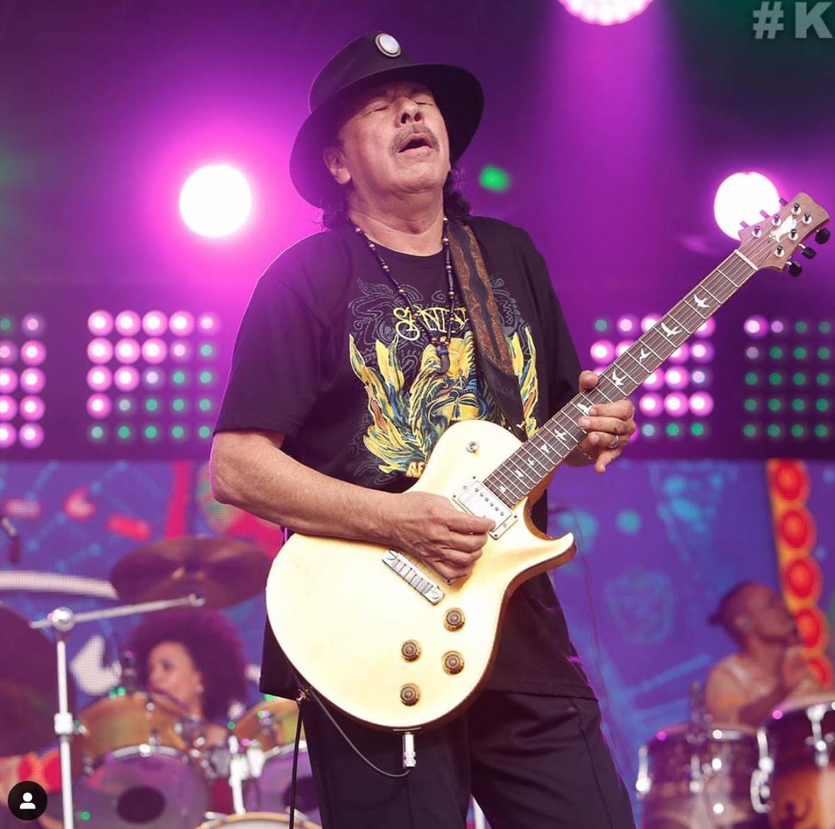 """Il segreto di Carlos Santana per """"arrivare a oltre 70 anni sentendosene 7"""""""
